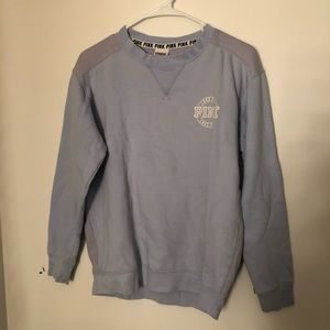 PINK victoria's secret thick long sleeve top